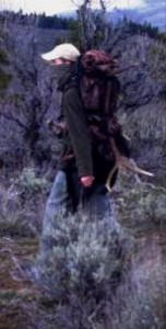 Hidden cameras caught people sneaking into closed wildlife areas to collect antlers. Photo courtesy of Eyes in the Woods