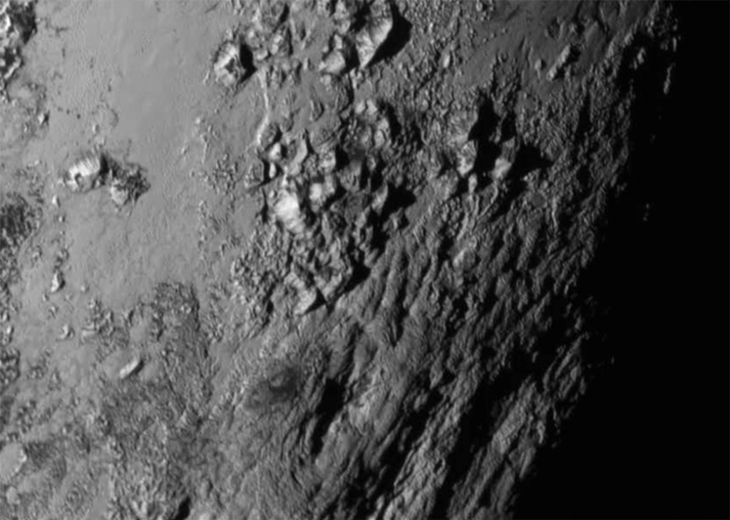 New Horizons captures Pluto's surface