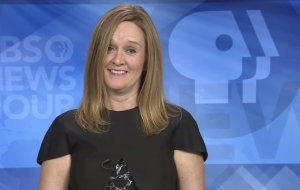 Samantha Bee NewsHour interview