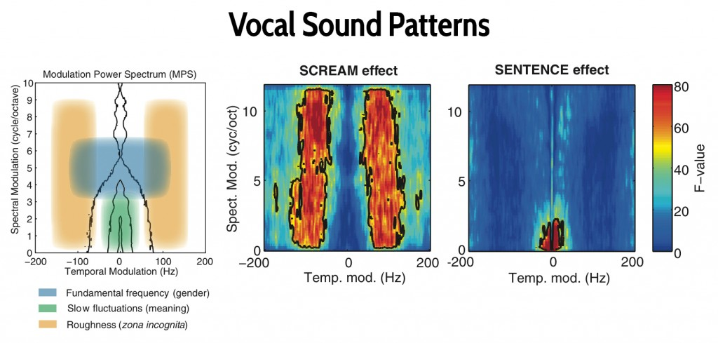 Scream sound patterns