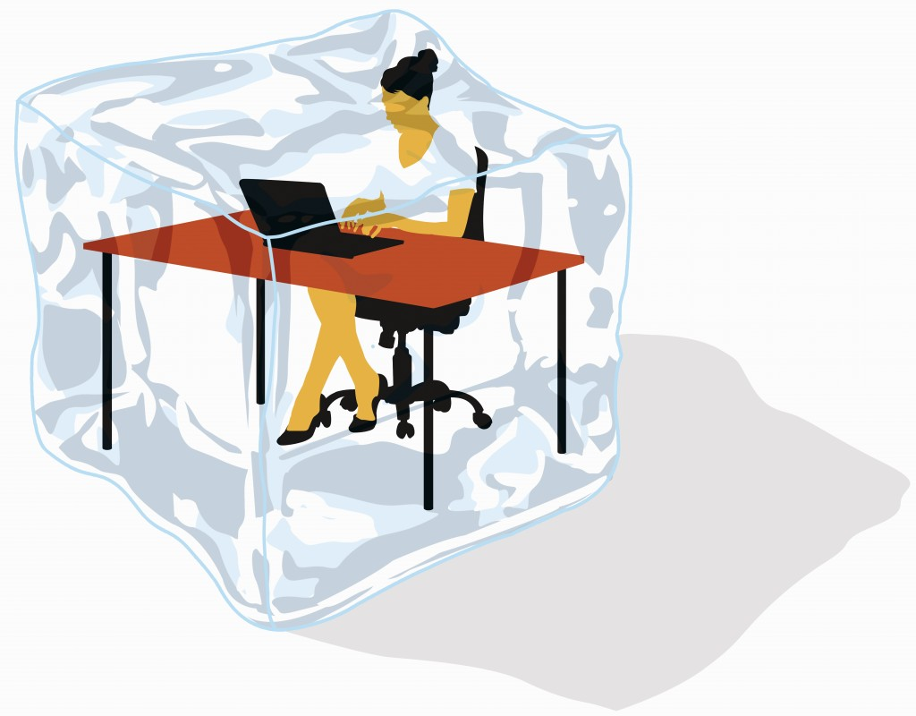 office furniture women executive office times have changed for women at work but office temperatures are stuck in the 60s pbs newshour