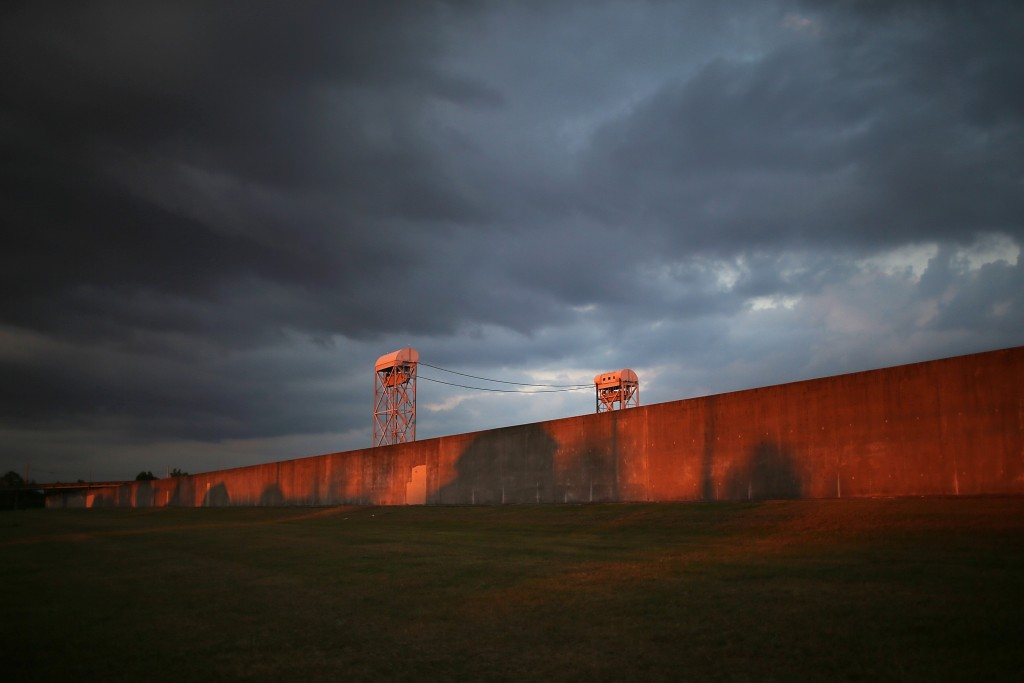 NEW ORLEANS, LA - AUGUST 29:  The sun rises in front of the re-constructed levee wall along the Industrial Canal in the Lower Ninth Ward on August 29, 2015 in New Orleans, Louisiana. A levee breach along the wall devastated the area with massive flooding in the aftermath of Hurricane Katrina. The 10th anniversary of the historic storm is August 29.  (Photo by Mario Tama/Getty Images)
