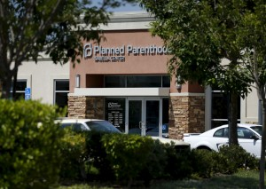 A Planned Parenthood clinic is seen in Vista, California, August 3, 2015. Planned Parenthood will be the focus of a partisan showdown in the U.S. Senate on Monday, as abortion foes press forward a political offensive against the women's healthcare group over its role in fetal tissue research. Congressional Republicans are trying to cut off Planned Parenthood's federal funding, reinvigorating America's debate about abortion as the 2016 presidential campaign heats up. Photo by Mike Blake/Reuters