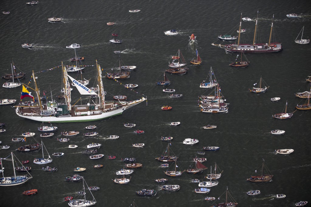 The Sail Amsterdam 2015 nautical festival is held every five years in Amsterdam, Netherlands,. Photo by Cris Toala Olivares/Reuters