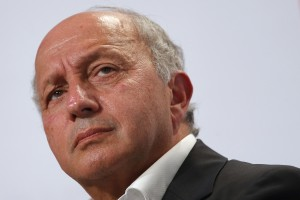 "French Foreign Affairs Minister Laurent Fabius attends the Socialist Party's ""Universite d'ete"" summer meeting in La Rochelle, France, August 28, 2015. Photo by Stephane Mahe/Reuters."