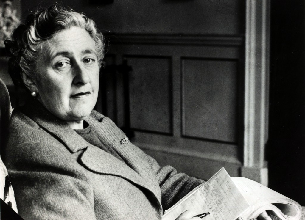 "English crime writer Agatha Christie at her home Greenway House, Devon, Agatha Christie,(1890-1976), the world's best known mystery writer, famous for her Hercule Poirot and Miss Marple stories, and for her plays including ""The Mousetrap"" (Photo by Popperfoto/Getty Images)"