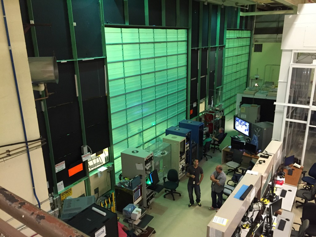 ICESat-2 engineering station at the NASA Goddard Space Flight Center. Photo by Nsikan Akpan