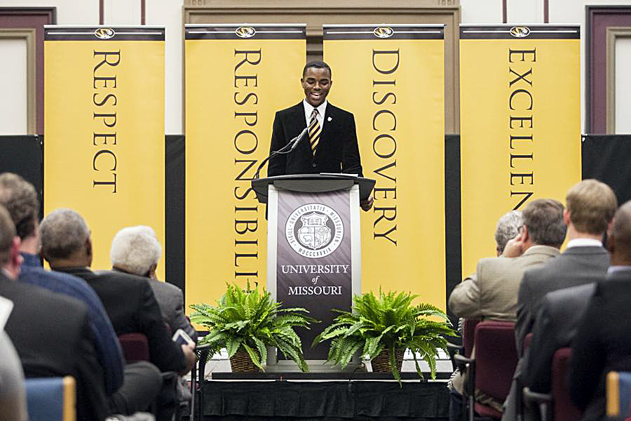 "Payton Head was inaugurated as the Univeristy of Missouri's student body president earlier this year. He writes: ""I do believe that there is hope. As long as people in positions of power use their privilege to speak up for the voiceless, change will come."""