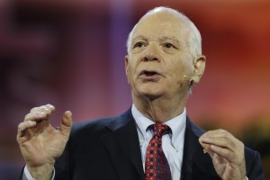 Senator Ben Cardin (D-MD) announced Friday that he opposes the nuclear deal with Iran. The senator's decision won't doom Obama's agreement, but it won't help Democrats' chances of preventing a resolution against it from reaching a vote. Photo by Jonathan Ernst/Reuters