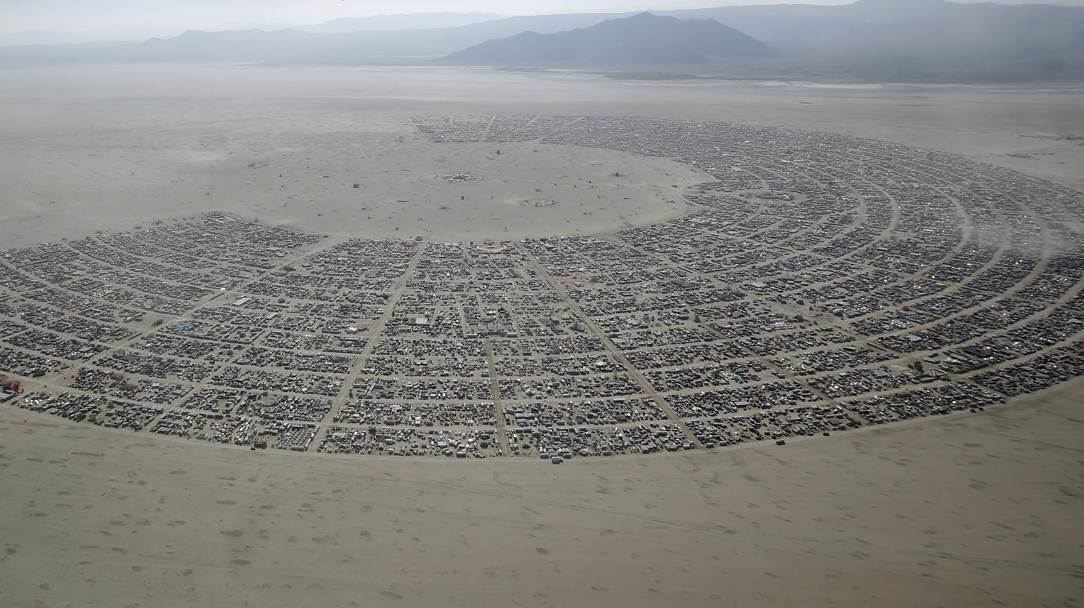 The Burning Man festival started when Larry Harvey, Jerry James and their friends met to light a bonfire on the summer solstice. It's grown throughout the years, and is expected to draw about 70,000 participants in 2015. Photo by Jim Urquhart/Reuters