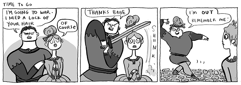 Cartoonist Kate Beaton Finds The Punchlines Lost To