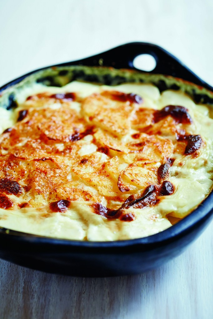 Ruth Reichl's Potatoes au Gratin. Photo courtesy of Random House