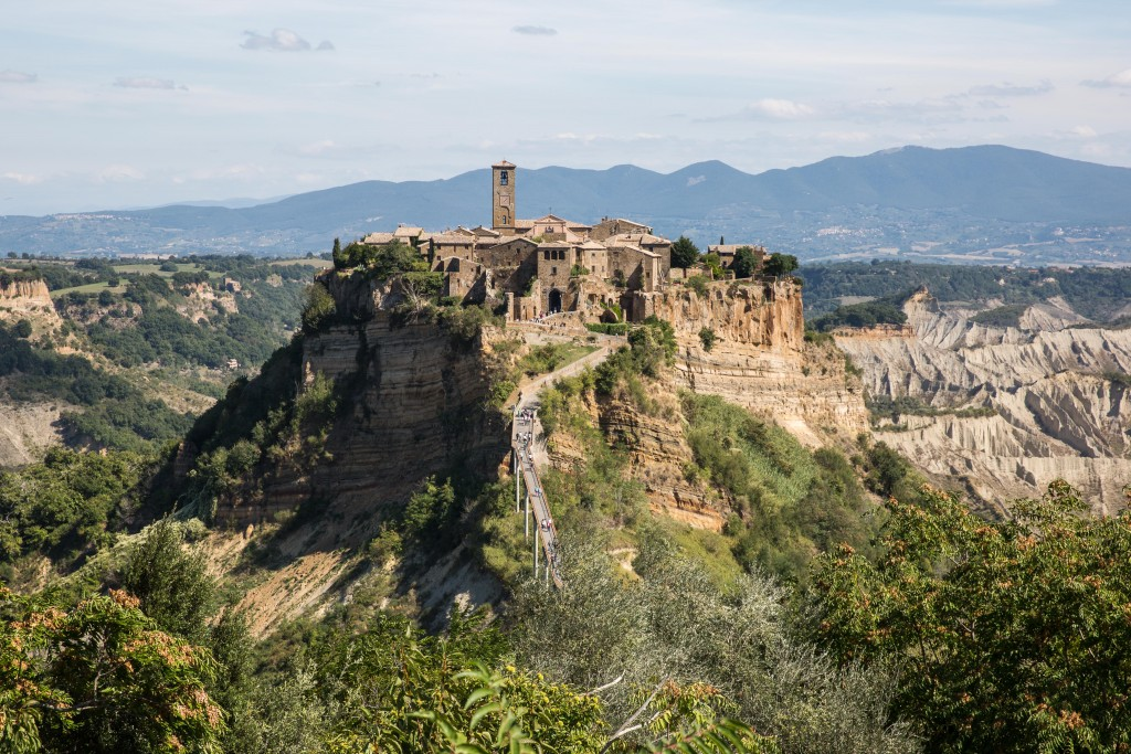 "Civita di Bagnoregio, known as the ""dying town,"" is a small hilltop community in the Lazio province of Central Italy. Photo by Frank Carlson"