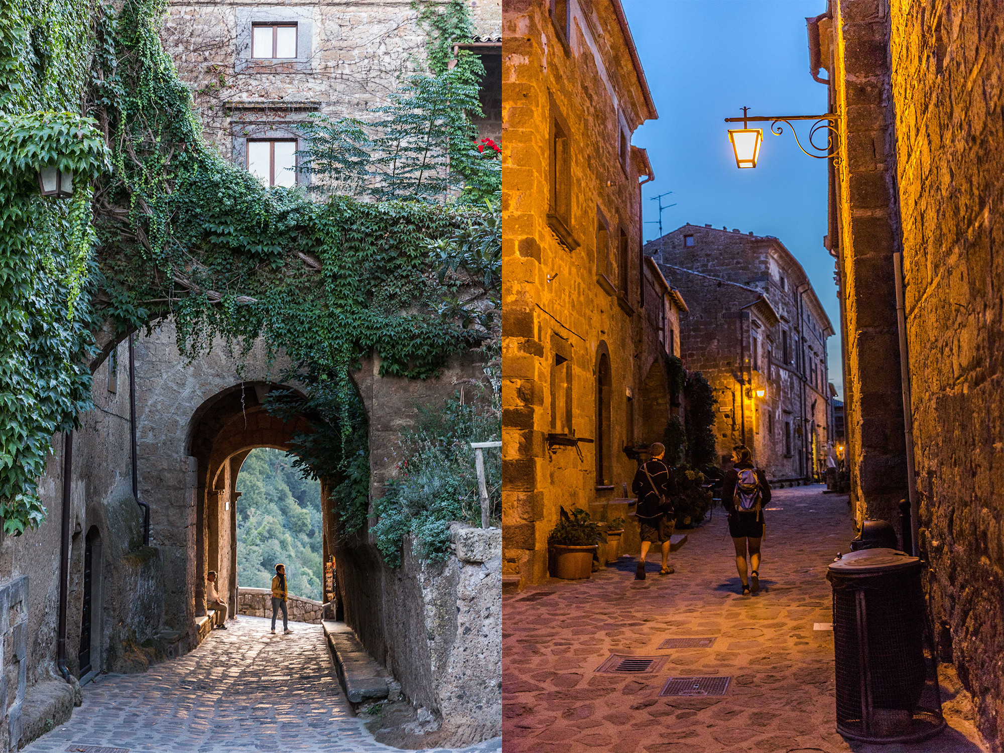 Photos visit a crumbling medieval town that s slowly - Civita di bagno ...