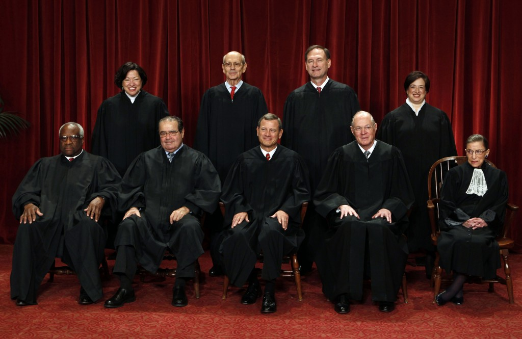 Supreme Court justice took part in case despite wife's stock ownership
