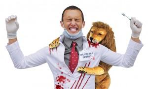 """Cecil's Revenge"" costume from PETA."