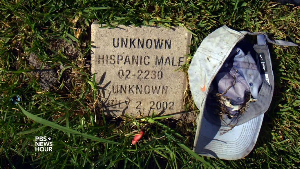 Why it's hard to find the missing among unidentified dead