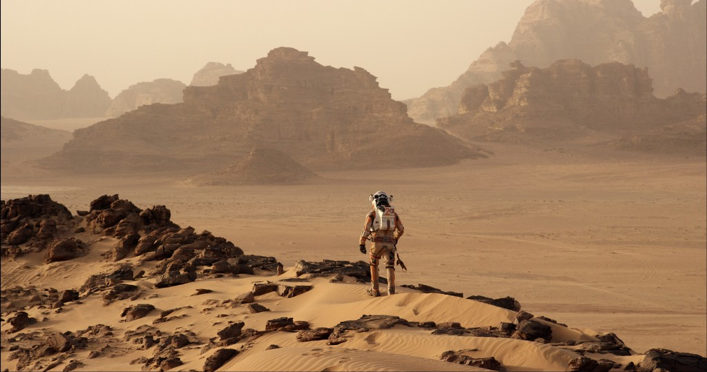Scene from The Martian. Courtesy of Twentieth Century Fox