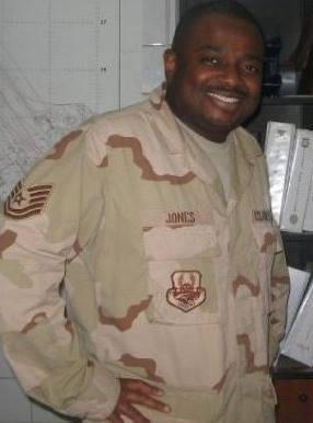 Retired U.S. Air Force E-6 Technical Sergeant Darrell Jones