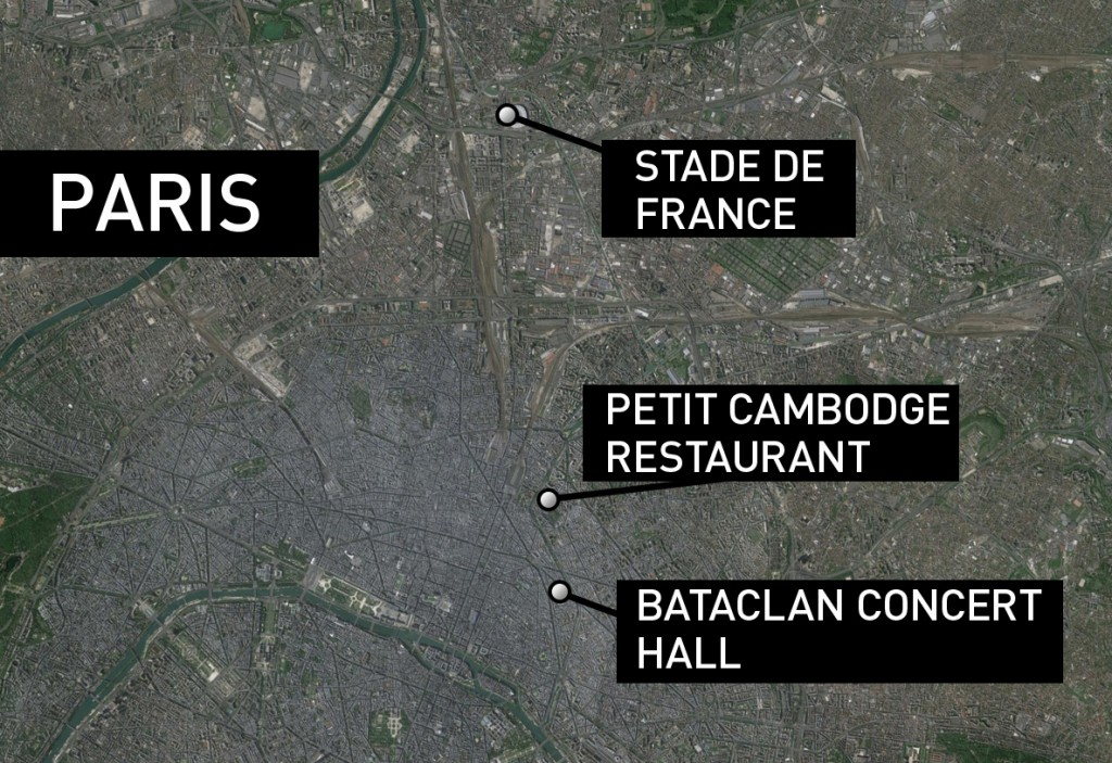 Bataclan Concert Hall Paris Map.Obama Shootings In Paris An Attack On All Of Humanity Pbs Newshour