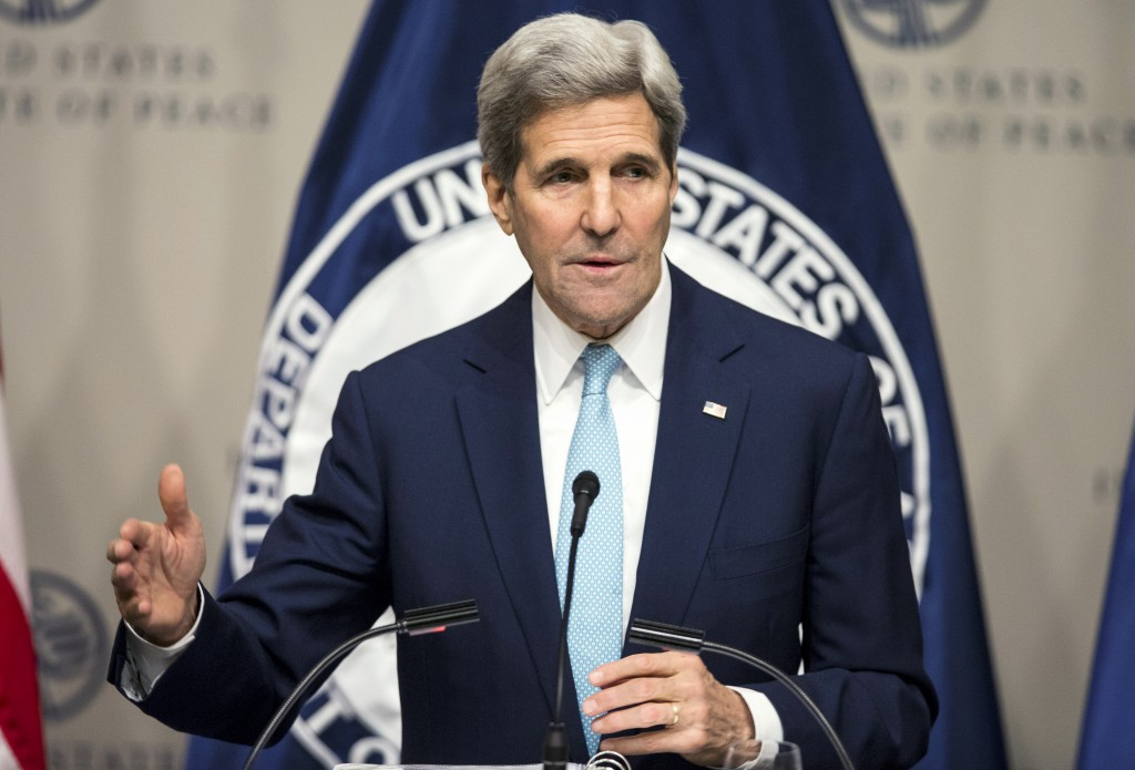 File photo of Secretary of State John Kerry by Joshua Roberts/Reuters