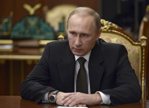 File photo of Russian President Vladimir Putin by Alexei Nikolskyi/Sputnik/Kremlin via Reuters