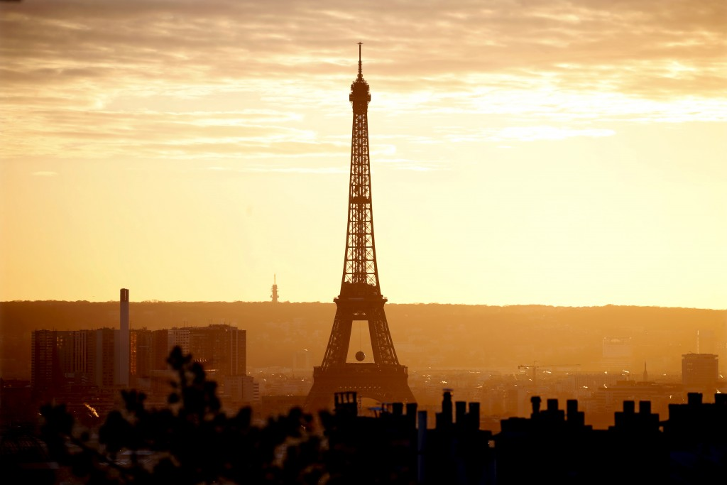 File photo of the Eiffel Tower in Paris by Charles Platiau/Reuters