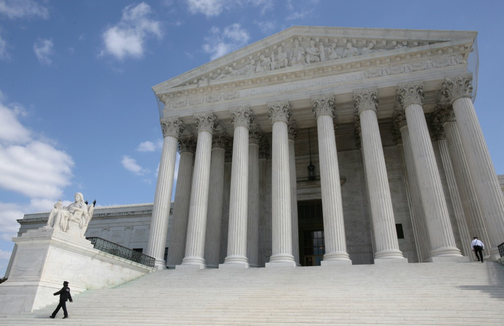 Photo of U.S. Supreme Court by Larry Downing/Reuters