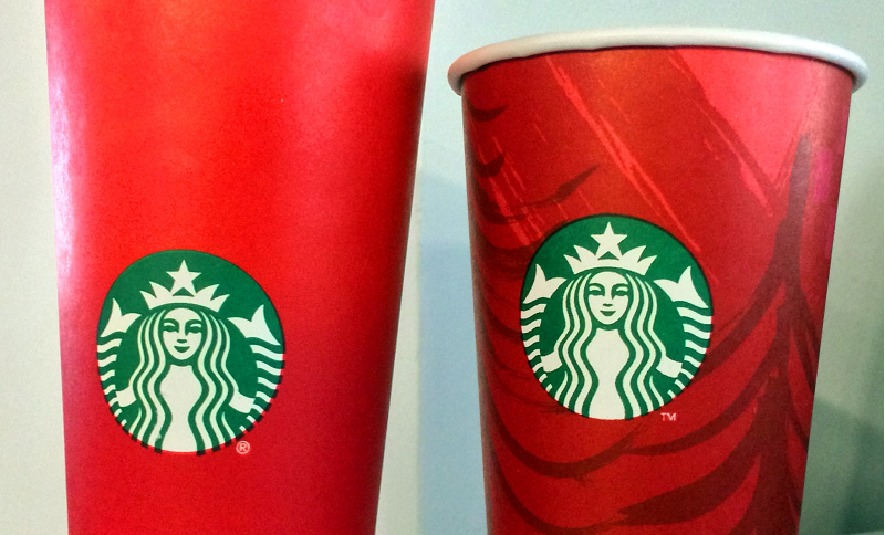 starbucks touts christmas coffee after flap over red cups pbs newshour - Starbuck Christmas Cups