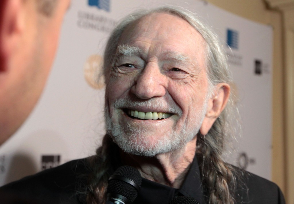 Country music legend Willie Nelson backstage at the DAR Constitution Hall in Washington, D.C. Photo by Joshua Barajas/PBS NewsHour