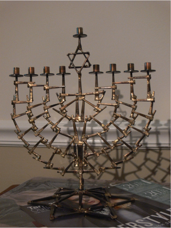 This menorah, created by a Holocaust survivor, was chosen to be lit in the White House this year.