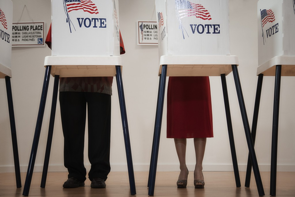 File photo of voters by Getty Images