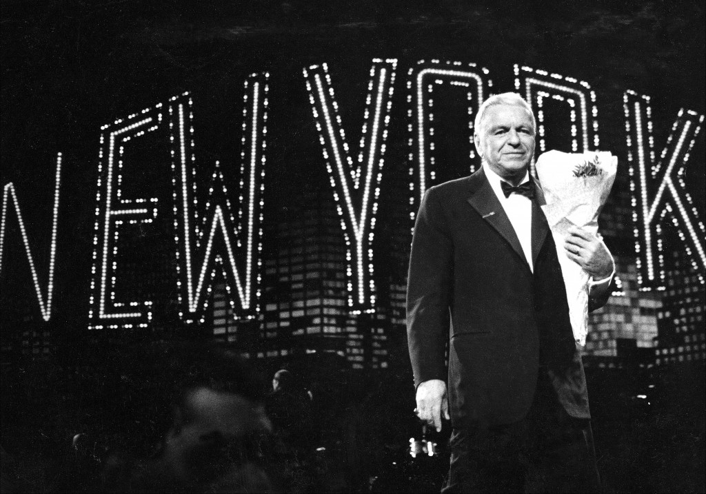 Sinatra in concert at Radio City Music Hall. Photo by Richard Corkery/NY Daily News Archive.