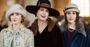 Lady Edith, Cora Crawley, the Countess of Grantham, and Lady Mary of Downton Abbey. Photo courtesy of PBS