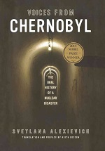 """Voices from Chernobyl"" book cover"