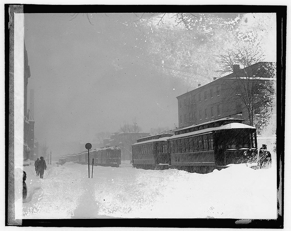 Blizzard, January 28, 1922 National Photo Company Collection (Library of Congress)
