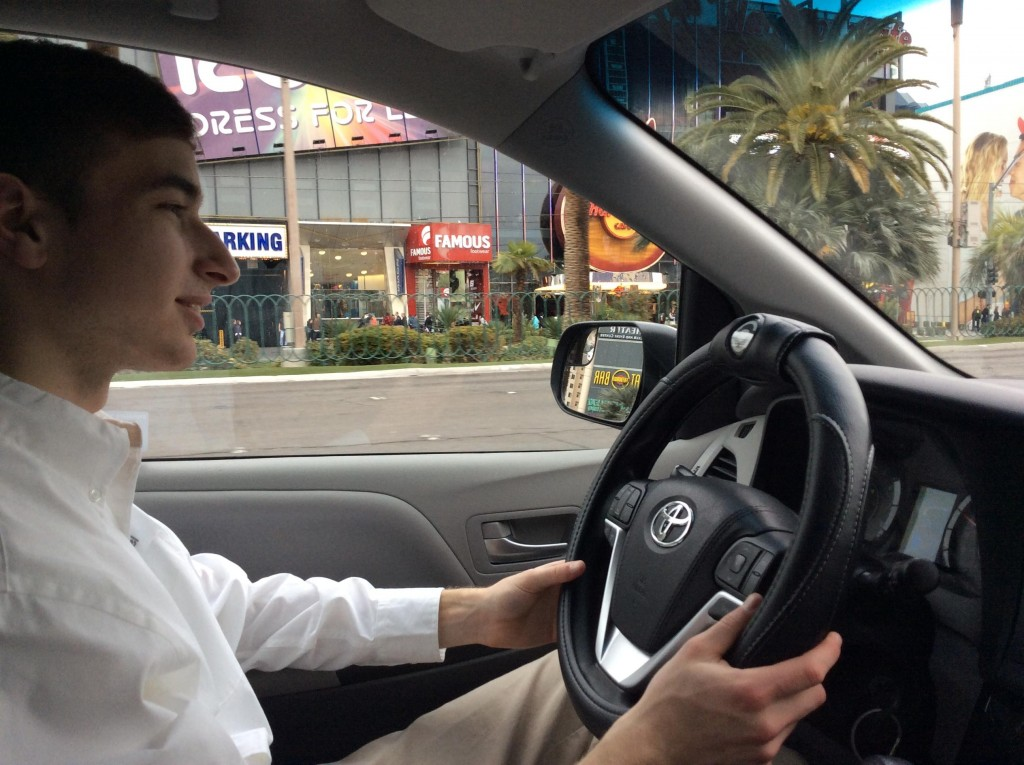 Teen Distracted Safety Inventor This To Newshour Steer Drivers Weekend Pbs Hopes