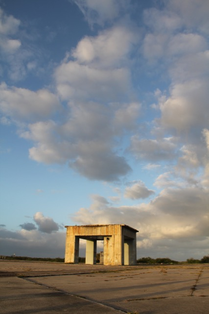 """Apollo 1 Launch Pad, """"Abandon in Place"""" Kennedy Space Center, FL. Photo courtesy of Michael Wilkinson."""