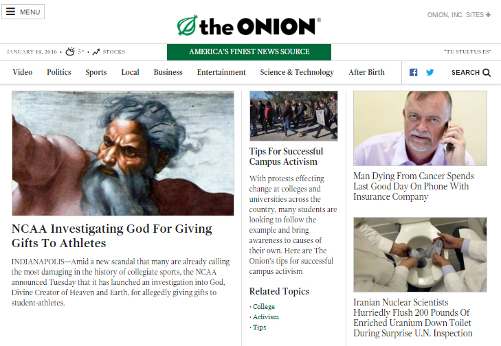 the onion news app