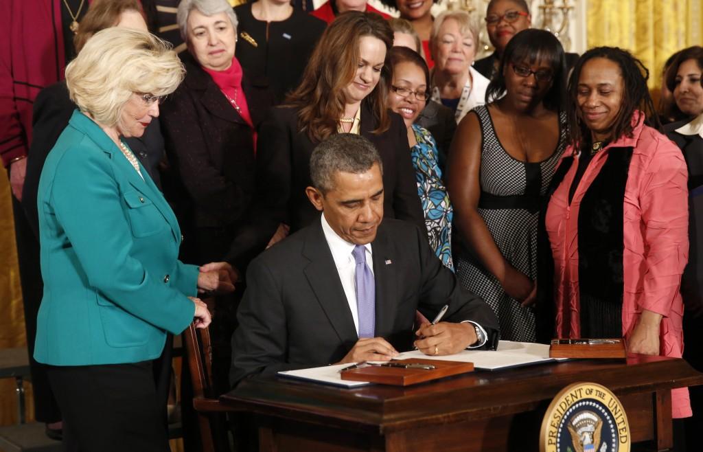 Image result for president obama equal pay executive order