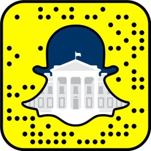 The White House is now on Snapchat!