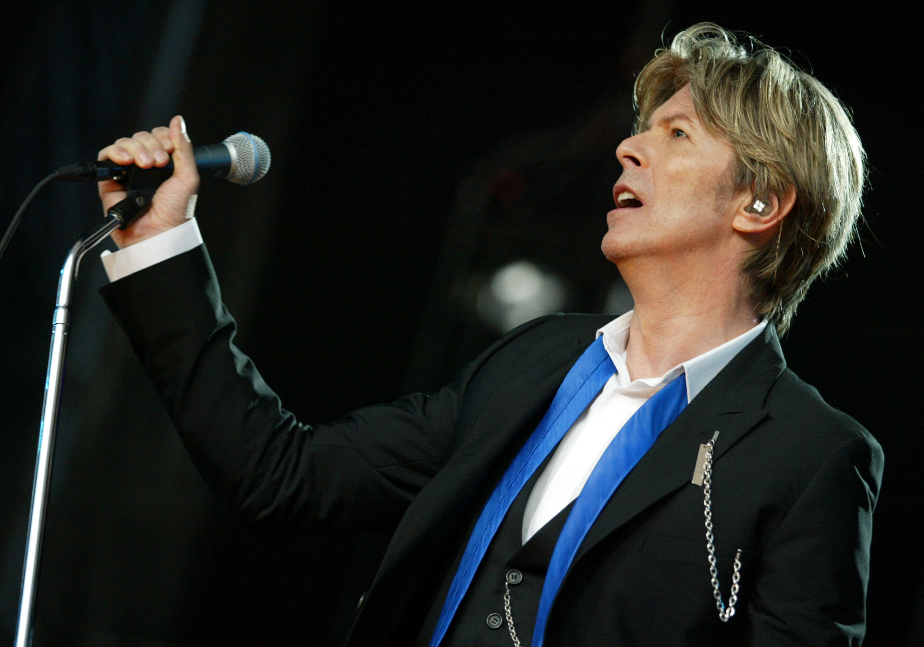 "David Bowie in Concert during ""Area2"" Festival in Northern California at Shoreline Amphitheatre in Mountain View, California on August 14, 2006. Photo by: J. Shearer"