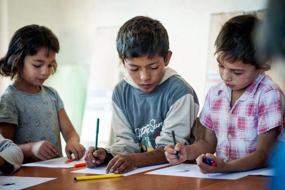 Hotel Gracanica in Kosovo is collecting book bags, chalk, pencils, glue sticks and flash cards for Partnership Learning Center's education programs. Photo courtesy of Pack for a Purpose
