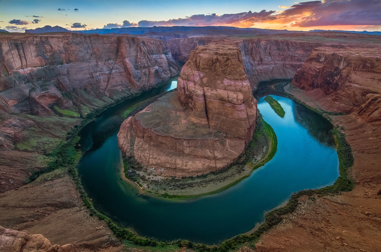 Horseshoe Bend on the Colorado River is located just north of the Grand Canyon. Photo by Crystal Brindle
