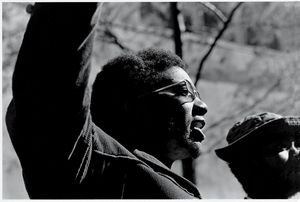 Black Panther Party member Fred Hampton. Photo by David Fenton/Getty Images
