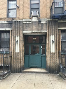 Bernie Sanders grew up in this apartment in the Midwood section of Brooklyn.  Photo by Daniel Bush