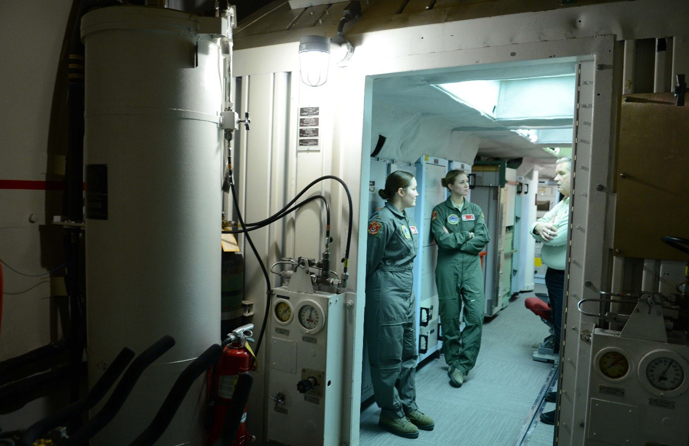 See inside the underground bunker that could launch a nuclear war