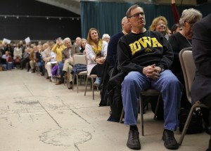 FILE PHOTO: Voters gather to caucus at the Republican caucus at the 7 Flags Event Center in Clive, Iowa February 1, 2016. Photo by Aaron P. Bernstein/Reuters
