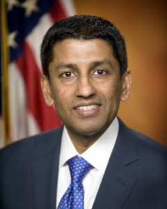U.S. Deputy Solicitor General Sri Srinivasan is pictured in this undated file photo courtesy of the Department of Justice. Srinivasan has served on the U.S. Court of Appeals for the D.C. Circuit since May 2013. U.S. Department of Justice/Handout via Reuters