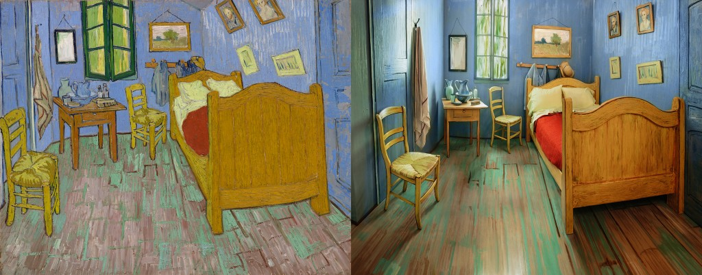 Stay in a life-size replica of a Van Gogh painting for $10 a night | PBS NewsHour & Stay in a life-size replica of a Van Gogh painting for $10 a night ...